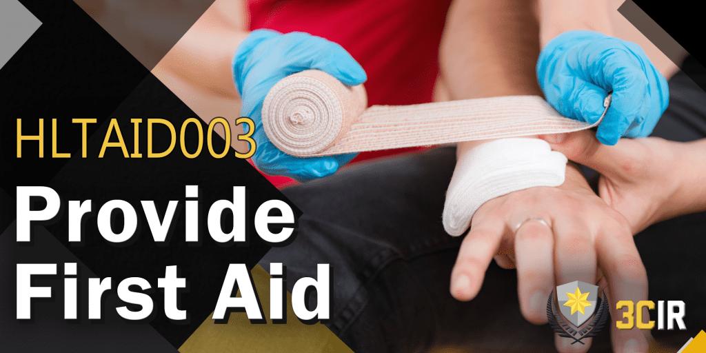 HLTAID003 Basic First aid class